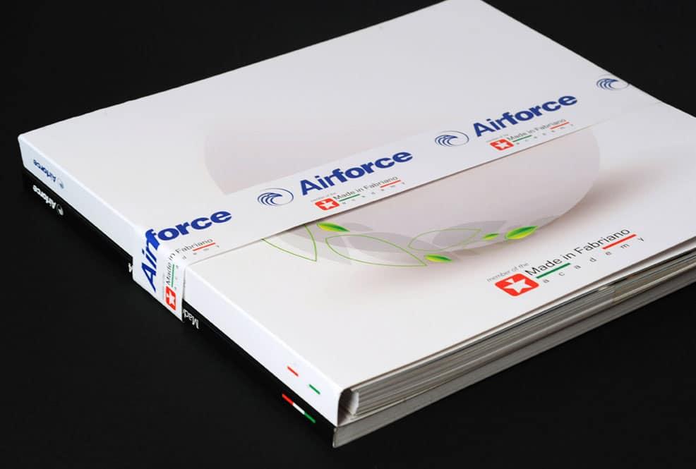 catalogo aziendale airforce elica fabrianod dedalo comunicazione visiva