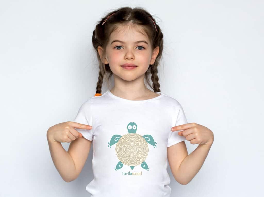 segnalibri immagine coordinata t-shirt bambino