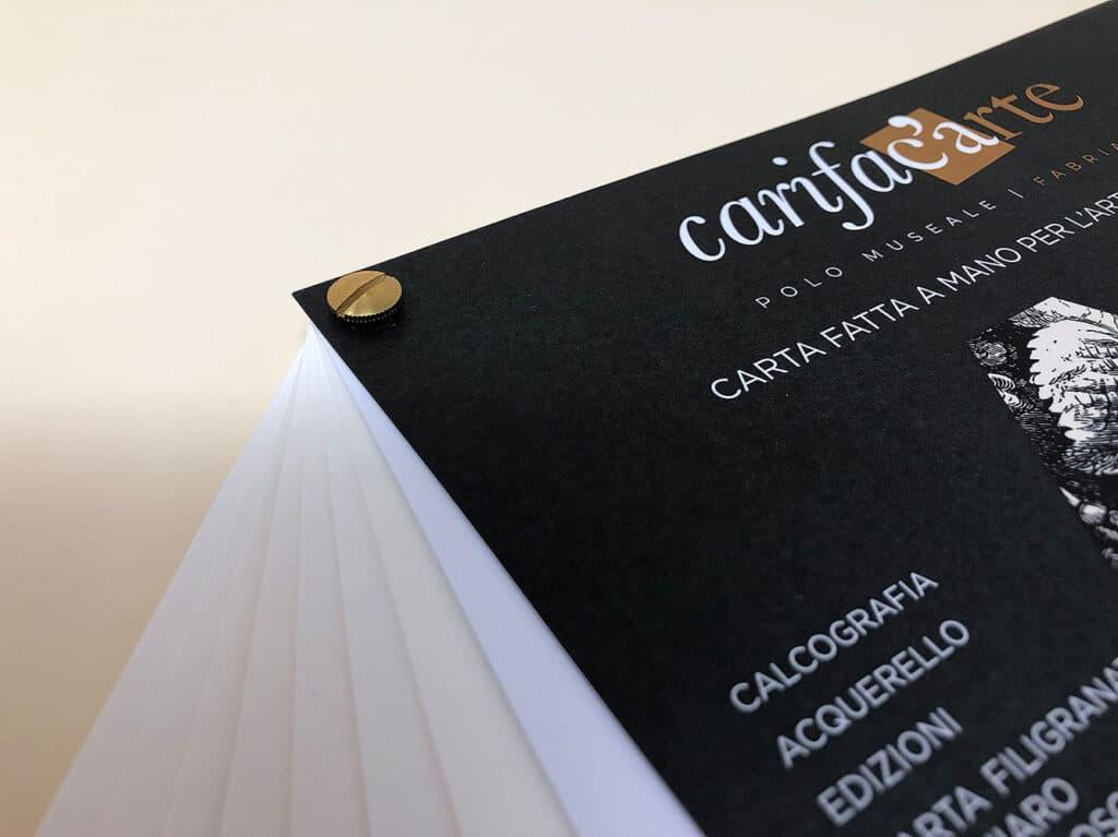 Dedalo campionario carta fatta a mano carifacarte