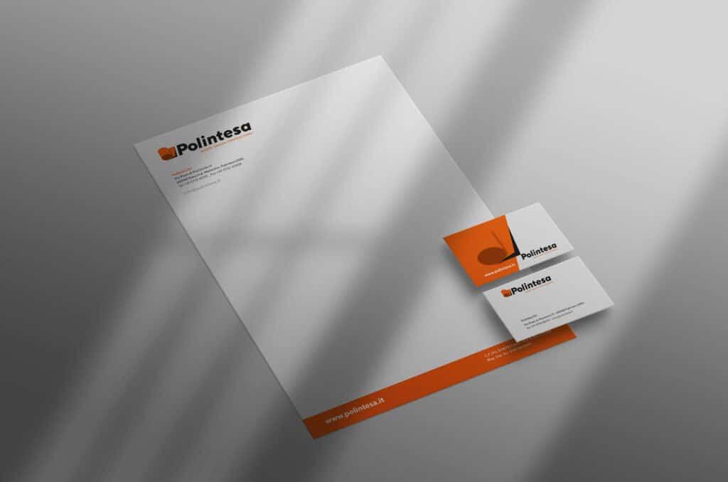 carta intestata e business card