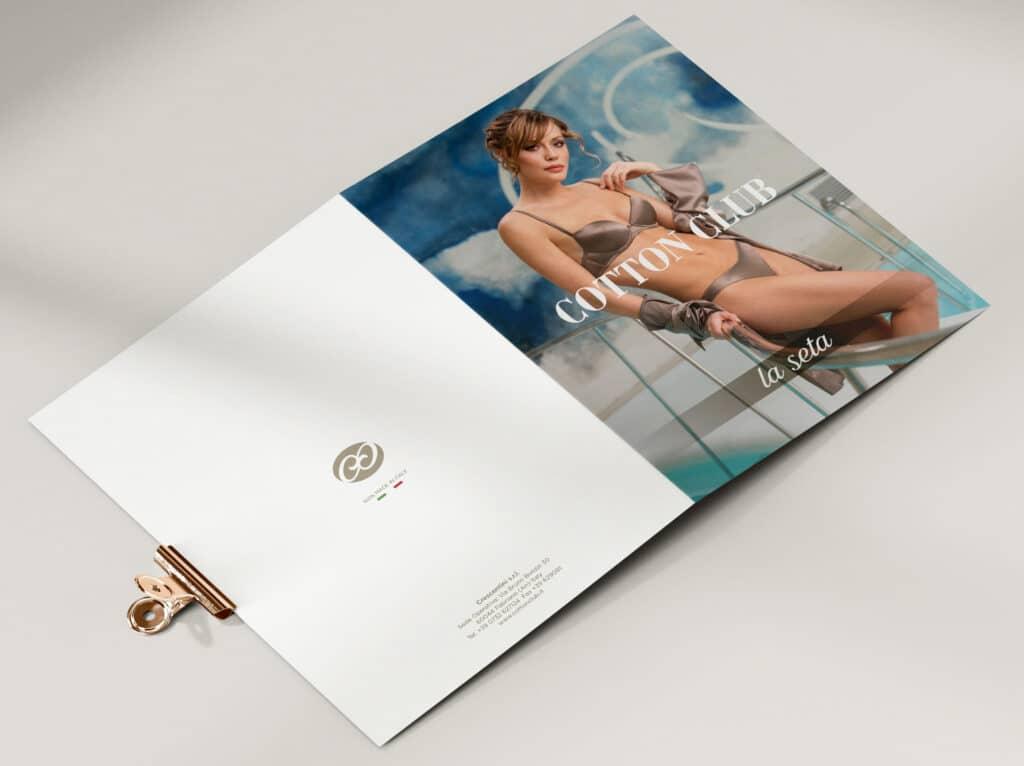 catalogo brochure cotton club fabriano intimo costumi