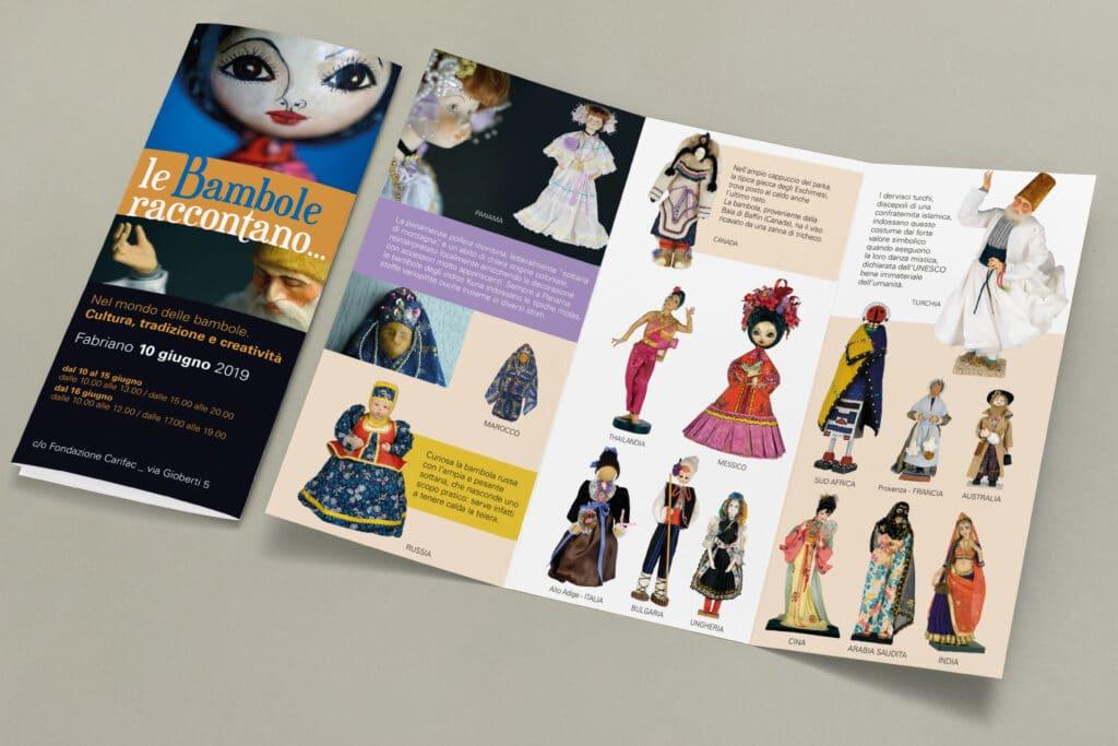 brochure fondazione carifac bambole