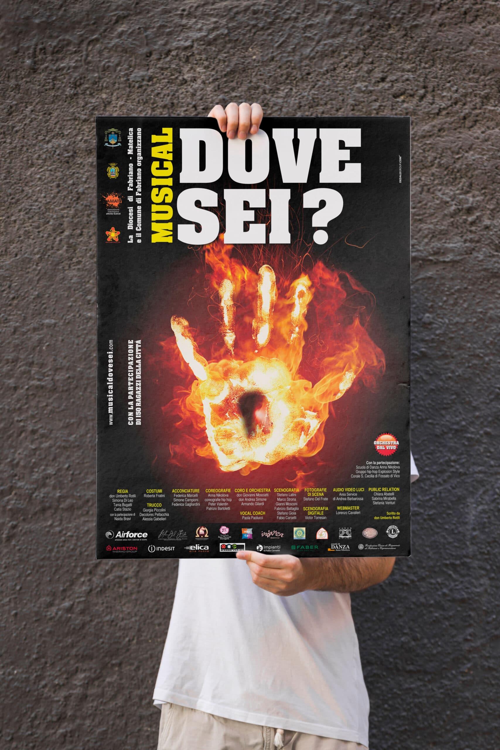 catalogo brochure banner poster manifesti siti web dedalo comunicazione visiva fabriano